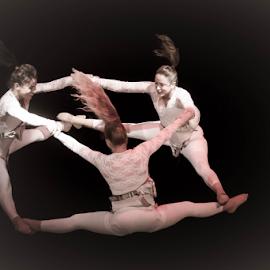Sisterhood by Ronen Rosenblatt - People Group/Corporate ( circle, females, dance, women, circus )