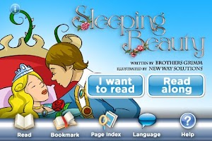 Screenshot of Sleeping Beauty StoryChimes
