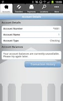 Screenshot of TouchBanking