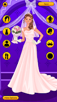 Screenshot of Wedding Dress Up Game