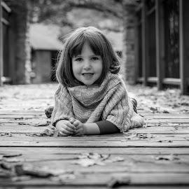 Harps by Brandi Davis - Babies & Children Children Candids ( child, girl, outdoor, bridge, smile )