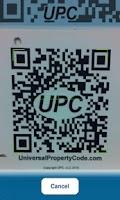 Screenshot of Universal Property Code