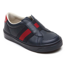 Gucci Navy Leather Trainer TRAINER