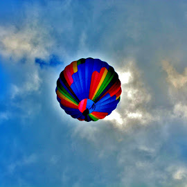 BullsEye...I See Right Up The Middle  by Rhonda Rossi - Transportation Other (  )