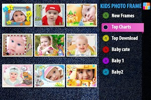 Screenshot of KIDS PHOTO FRAME - BABY CAMERA