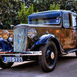 Austin,  by Mario Borg - Transportation Automobiles ( car old, malta, mobile )