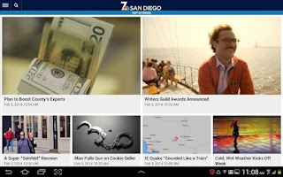 Screenshot of NBC 7 San Diego