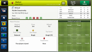 Screenshot of Football Manager Handheld 2014