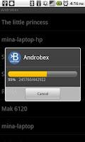 Screenshot of Androbex