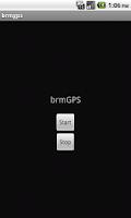 Screenshot of brmGPS
