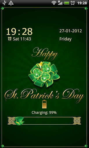 GO Locker St.Patrick's Day