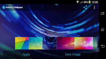 Screenshot of Android 4.3 Wallpapers HD