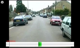 Screenshot of Hazard Perception Test