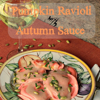 Autumn Sauce for Pumpkin Ravioli