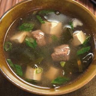 Tofu Seaweed Soup Recipes