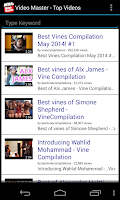 Screenshot of Video Master(YouTube Channels)