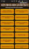 Screenshot of Botonera Bien Levantado