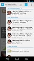 Screenshot of Klyph for Facebook