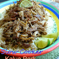 Slow Cooker Kalua Pork with Chive-Lime Rice