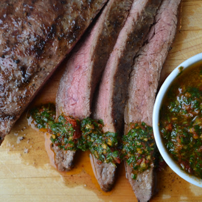 Flank Steak Chimichurri