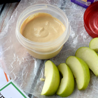 Healthy Peanut Butter Dip {One Recipe, Five Lunches}