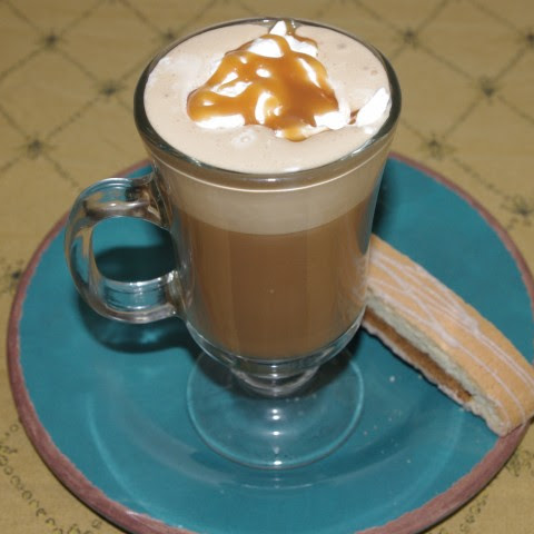 Hazelnut Caramel Macchiato Cocktail