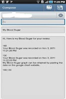 Screenshot of Blood Sugar Log ( Diabetes )