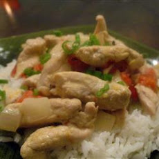 Thai Chicken Curry in Coconut Milk