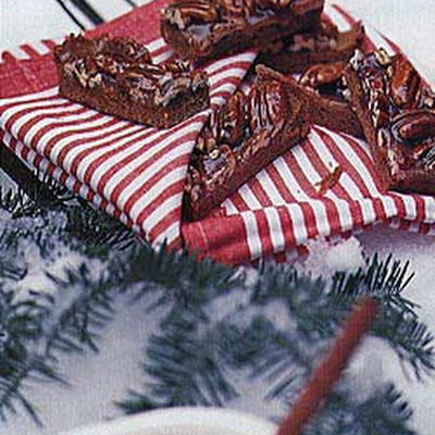Chewy Caramel Pecan Bars