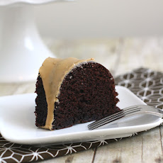 Light Chocolate Bundt with Coffee Glaze