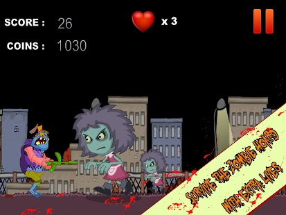 Machine Gun Zombie - screenshot