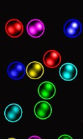 Screenshot of Rainbow bubbles free lwp