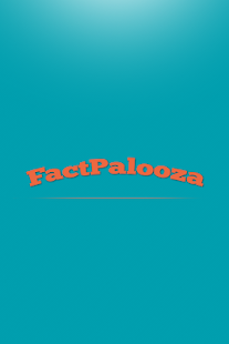 FactPalooza - screenshot