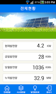 EcoSolar Monitoring - Korea - screenshot