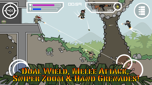 Doodle Army 2 : Mini Militia APK screenshot thumbnail 7