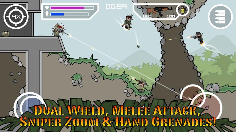 Doodle Army 2 : Mini Militia Screenshot 6