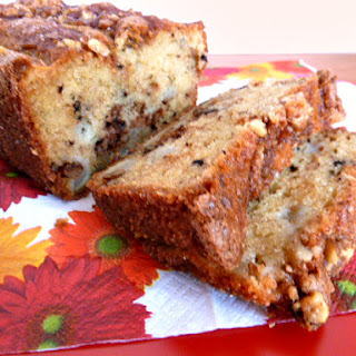 Apple Cinnamon Walnut Loaf