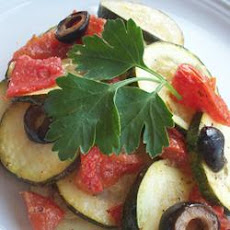Grilled Greek-Style Zucchini