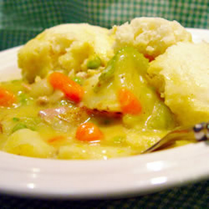Irish Chicken and Dumplings
