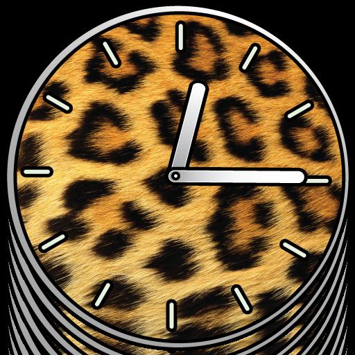 動物の時計 -  FREE 個人化 App LOGO-硬是要APP