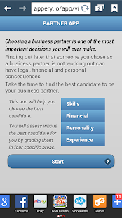 Choose A Biz Partner - screenshot