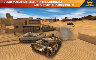 Screenshot of Tanktastic - 3D tanks online