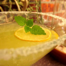 Meyer Lemon Drop Martini