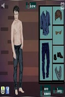 Screenshot of Edward Dress Up