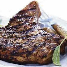 Beer-Brined Grilled Pork Chops