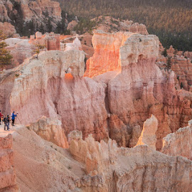 Bryce Sunrise Point  by Jacquie Black - Landscapes Caves & Formations ( photographers, utah, sunrise, bryce national park )