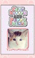 Screenshot of Cute Kitten & Puppy Sounds