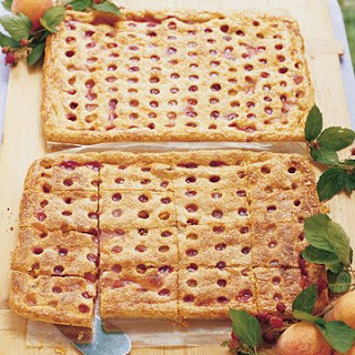 Peach-Raspberry Slab Pie