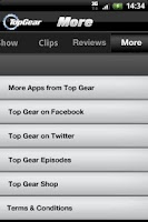 Screenshot of Top Gear: News