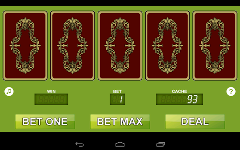 Jacks or Better Mobile Free Casino Game - IOS / Android Version